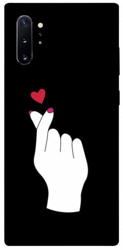 Чехол iPrint Сердце в руке для Samsung Galaxy Note 10 Plus