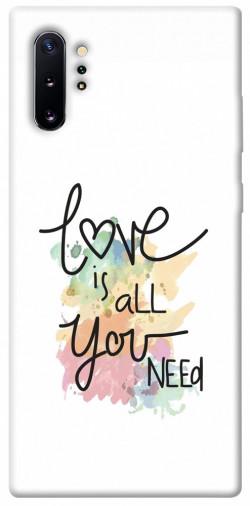 Чехол iPrint Love is all you need для Samsung Galaxy Note 10 Plus