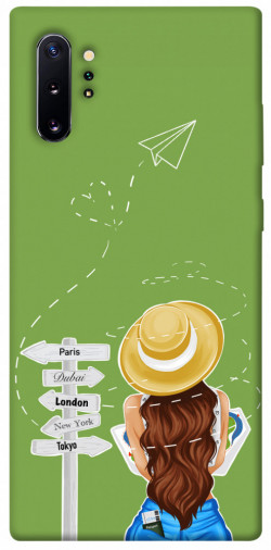 Чехол itsPrint Travel girl для Samsung Galaxy Note 10 Plus