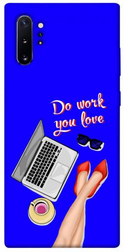 Чехол itsPrint Do work you love для Samsung Galaxy Note 10 Plus