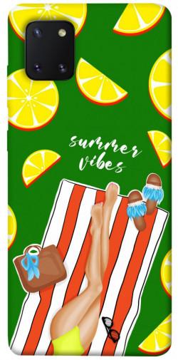 Чехол itsPrint Summer girl для Samsung Galaxy Note 10 Lite (A81)