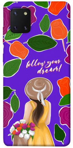 Чехол itsPrint Girl dreamer для Samsung Galaxy Note 10 Lite (A81)