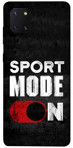 Чехол itsPrint Sport mode on для Samsung Galaxy Note 10 Lite (A81)