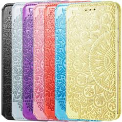 Кожаный чехол книжка GETMAN Mandala (PU) для Samsung Galaxy A12