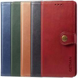 Кожаный чехол книжка GETMAN Gallant (PU) для Samsung Galaxy A02