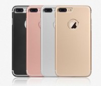 "Ультратонкий TPU чехол c металлическими вставками YED для Apple iPhone 7 plus / 8 plus (5.5"")"