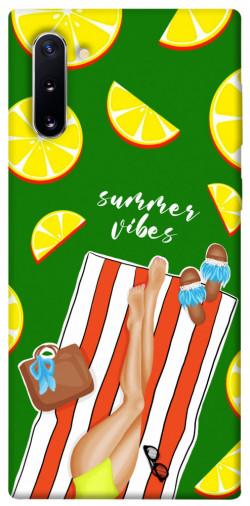 Чехол itsPrint Summer girl для Samsung Galaxy Note 10