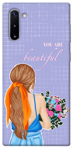 Чехол itsPrint You are beautiful для Samsung Galaxy Note 10