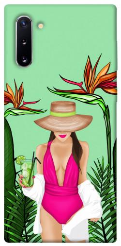 Чехол itsPrint Tropical girl для Samsung Galaxy Note 10