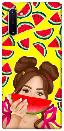 Чехол itsPrint Watermelon girl для Samsung Galaxy Note 10