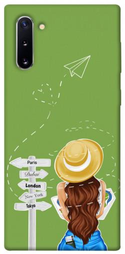 Чехол itsPrint Travel girl для Samsung Galaxy Note 10