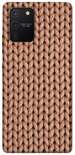Чехол itsPrint Knitted texture для Samsung Galaxy S10 Lite