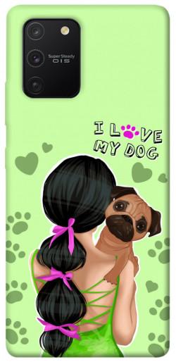 Чехол itsPrint Love my dog для Samsung Galaxy S10 Lite