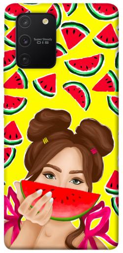 Чехол itsPrint Watermelon girl для Samsung Galaxy S10 Lite
