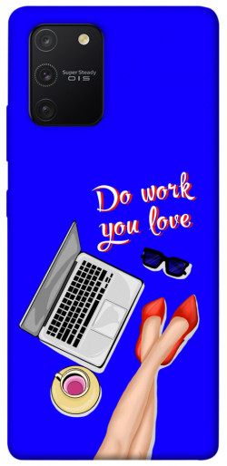 Чехол itsPrint Do work you love для Samsung Galaxy S10 Lite