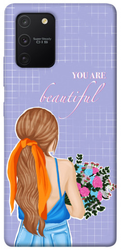 Чехол itsPrint You are beautiful для Samsung Galaxy S10 Lite