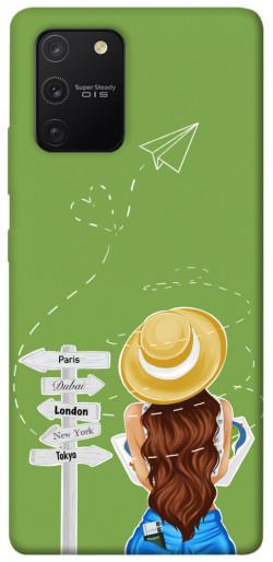 Чехол itsPrint Travel girl для Samsung Galaxy S10 Lite