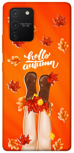 Чехол itsPrint Hello autumn для Samsung Galaxy S10 Lite