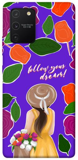 Чехол itsPrint Girl dreamer для Samsung Galaxy S10 Lite