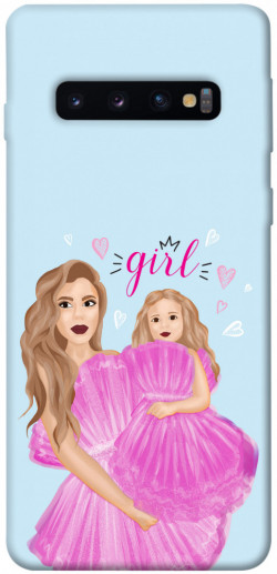 Чехол itsPrint Girls couple look для Samsung Galaxy S10