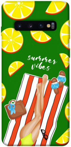Чехол itsPrint Summer girl для Samsung Galaxy S10