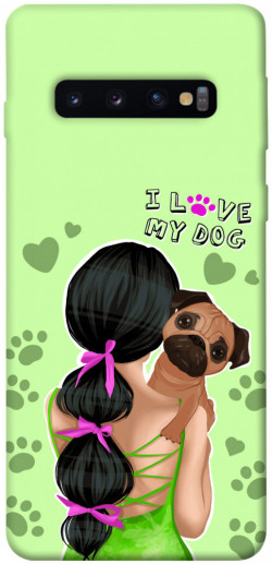 Чехол itsPrint Love my dog для Samsung Galaxy S10