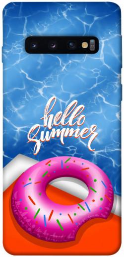 Чехол itsPrint Hello summer для Samsung Galaxy S10