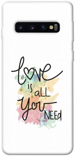 Чехол iPrint Love is all you need для Samsung Galaxy S10