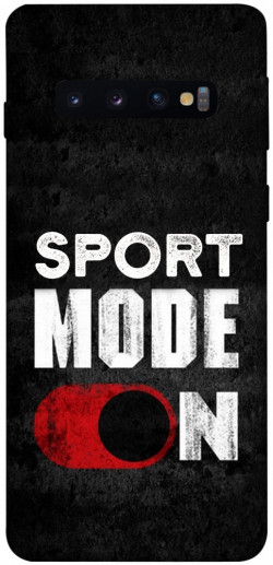 Чехол itsPrint Sport mode on для Samsung Galaxy S10