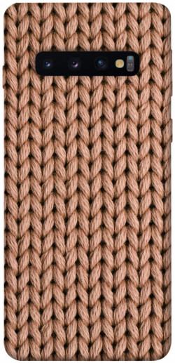Чехол itsPrint Knitted texture для Samsung Galaxy S10