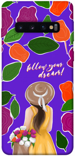 Чехол itsPrint Girl dreamer для Samsung Galaxy S10