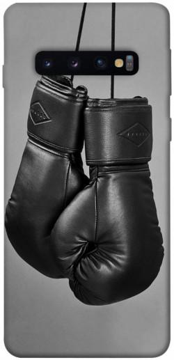 Чехол itsPrint Черные боксерские перчатки для Samsung Galaxy S10