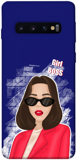 Чехол itsPrint Girl boss для Samsung Galaxy S10