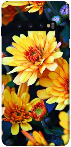 Чехол itsPrint Yellow petals для Samsung Galaxy S10