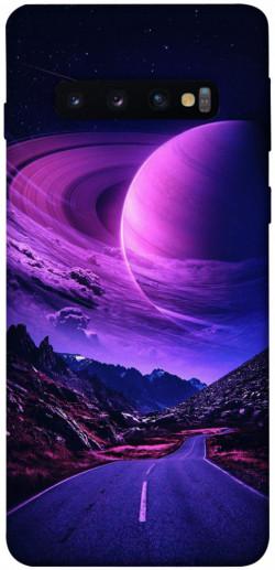 Чехол itsPrint Дорога в небо для Samsung Galaxy S10
