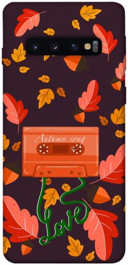 Чехол itsPrint Autumn sound для Samsung Galaxy S10