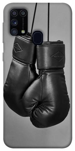 Чехол itsPrint Черные боксерские перчатки для Samsung Galaxy M31