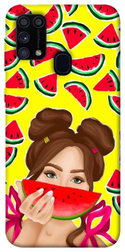 Чехол itsPrint Watermelon girl для Samsung Galaxy M31