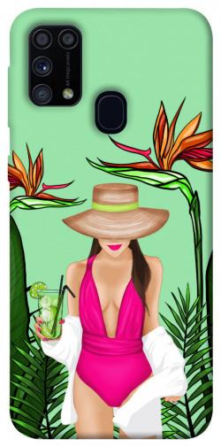 Чехол itsPrint Tropical girl для Samsung Galaxy M31