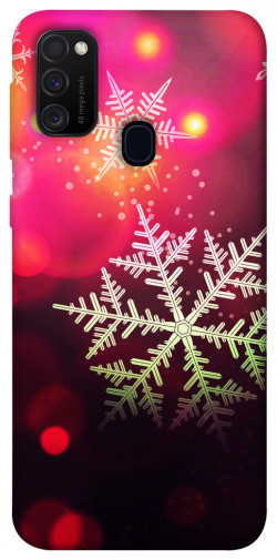 Чехол iPrint Снежинки для Samsung Galaxy M21