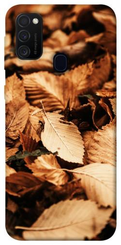 Чехол itsPrint Опавшая листва для Samsung Galaxy M21