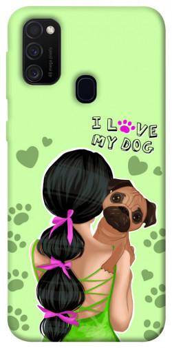 Чехол itsPrint Love my dog для Samsung Galaxy M21