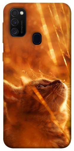 Чехол itsPrint Magic cat для Samsung Galaxy M21