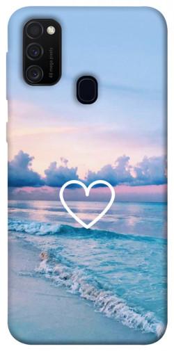 Чехол itsPrint Summer heart для Samsung Galaxy M21