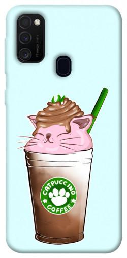 Чехол itsPrint Catpuccino для Samsung Galaxy M21