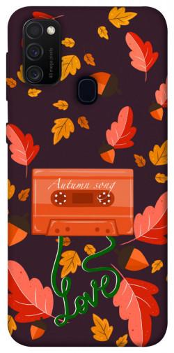 Чехол itsPrint Autumn sound для Samsung Galaxy M21