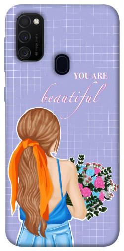 Чехол itsPrint You are beautiful для Samsung Galaxy M21
