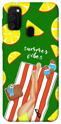Чехол itsPrint Summer girl для Samsung Galaxy M21