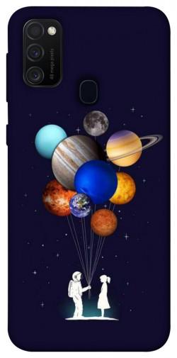 Чехол iPrint Галактика для Samsung Galaxy M21