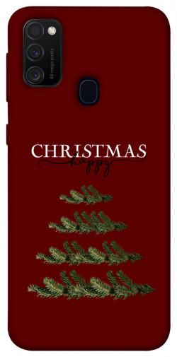 Чехол iPrint Счастливого Рождества для Samsung Galaxy M21
